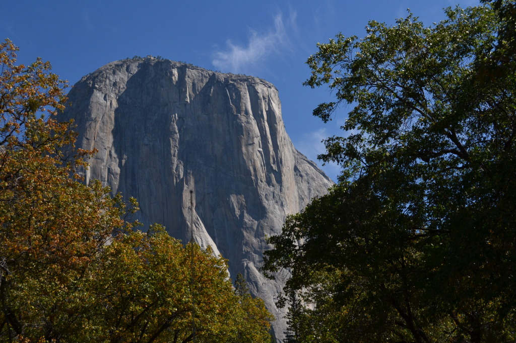 El Capitan, the giant monolit in Yosemite National Park
