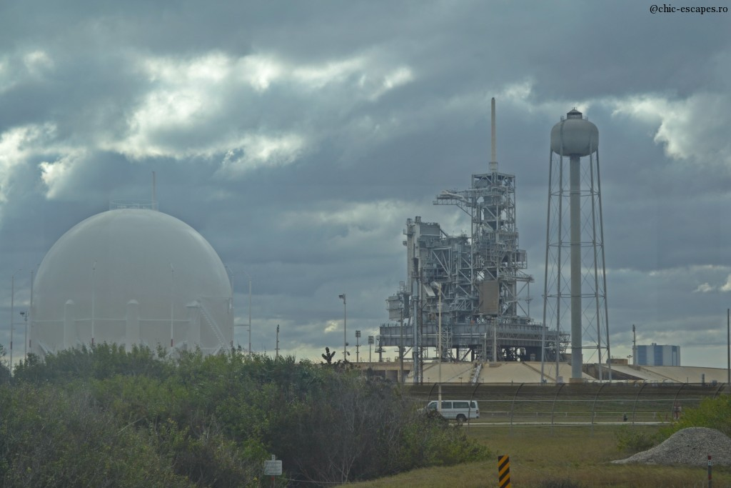 Kennedy Space Center, padurile de lansare