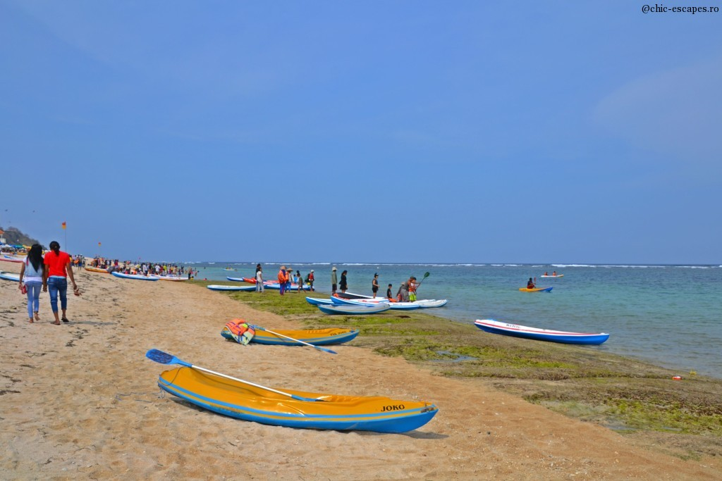 Nusa Dua Beach, private beach at Mulia Resort