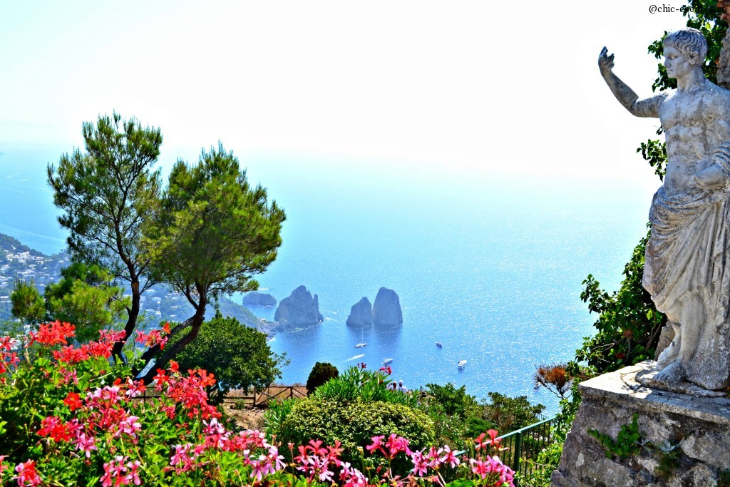 View from Monte Solaro, Capri