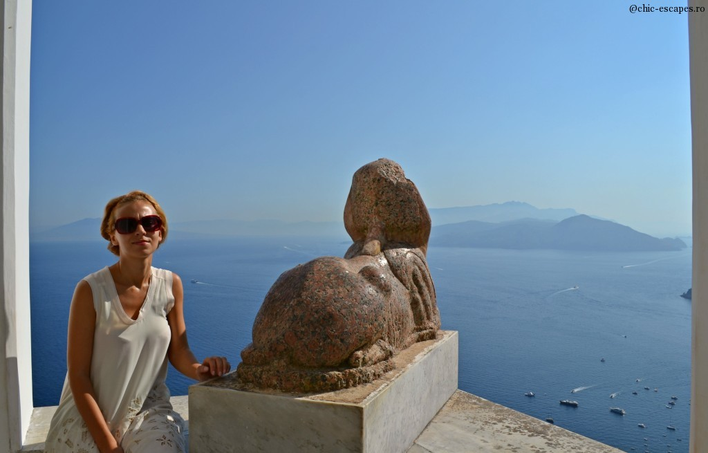 Villa San Michelle in Capri and the famous Sphinx