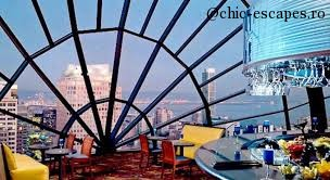 """San Francisco Marriott Marquis: downtown with """"The View"""""""