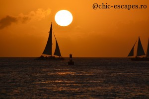 Key West Sunset: Ships that pass in the night, and speak each other in passing