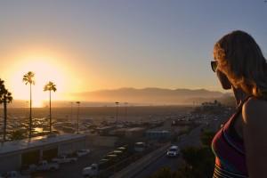 Santa Monica Pier: Sunset is still my favourite color