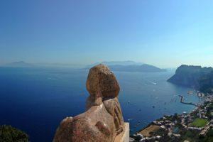 Capri: Sfinxul de la San Michele